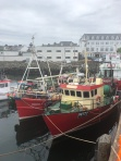 Fishing boats in the harbor at Killybegs.