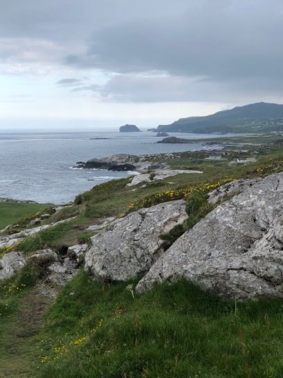 Coast line near Malin Head.