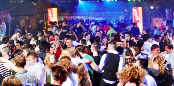 Malaga street bar