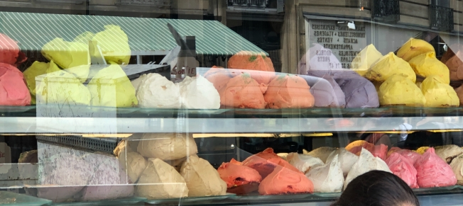 Eating one of these monster meringues from Bertands's took two days!