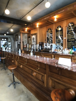 The charming Grand Cafe Tortoni still has its original bar and finishings.